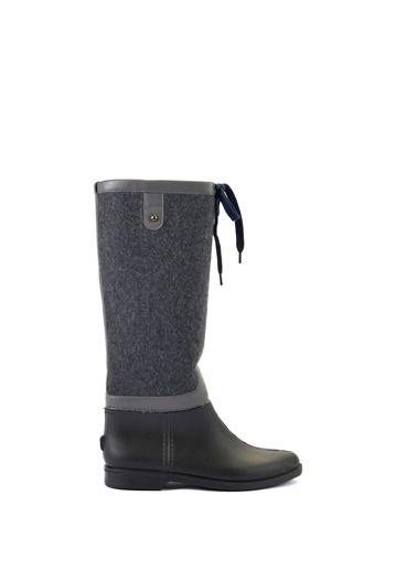 Esem ESEM B0014 Yağmur Çizmesi Kadın Ayakkabı    Gri